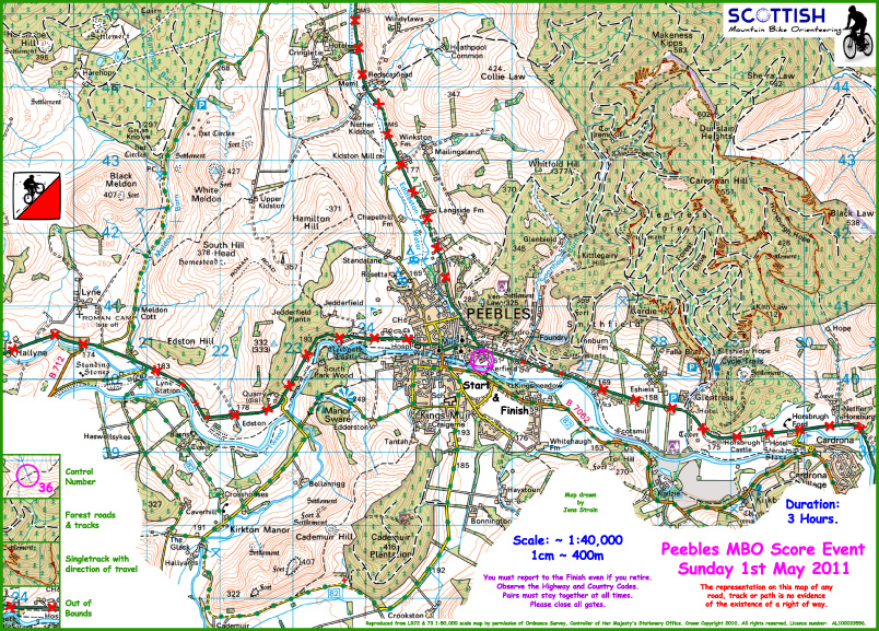 Peebles MBO Map