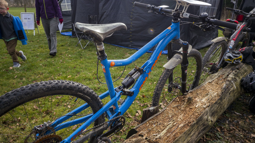Having sold my lightweight XC bike last year to fund a slack geometry, Enduro bike my steed for the day would be more at home descending than cross country or climbing